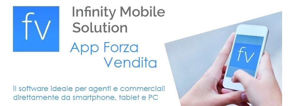 Infinity Mobile Solution - app forza vendita Zucchetti - il software ideale per agenti e commerciali direttamente da smartphone, tablet e PC