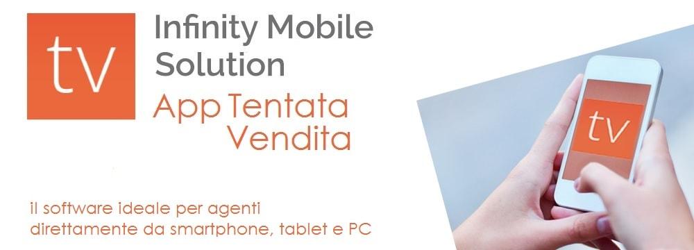 Infinity mobile solution - app tentata vendita Zucchetti - il software ideale per agenti direttamente da smartphone, tablet e PC
